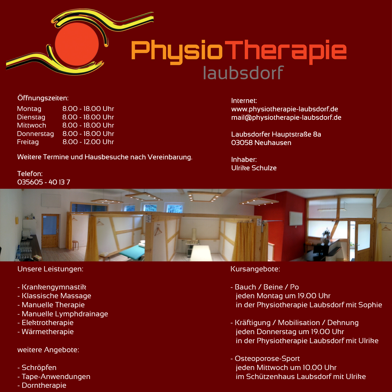 Physiotherapie Laubsdorf